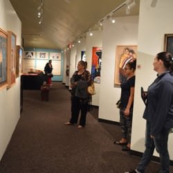 Part of the art galleries at the CNMCC (image from Yelp)