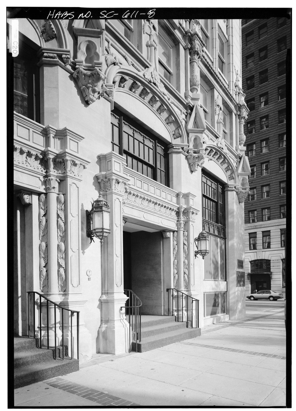 Building, Window, Black-and-white, Rectangle