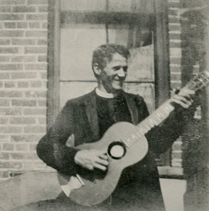 Father Gerrer as a young man (image from MGMOA)