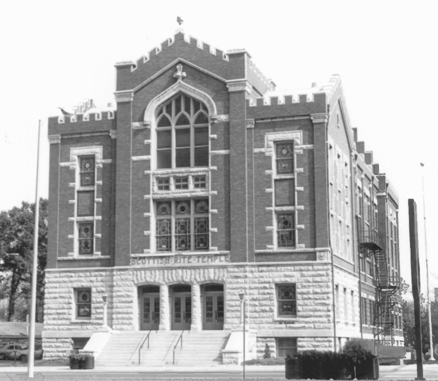 Scottish Rite Temple in 1984