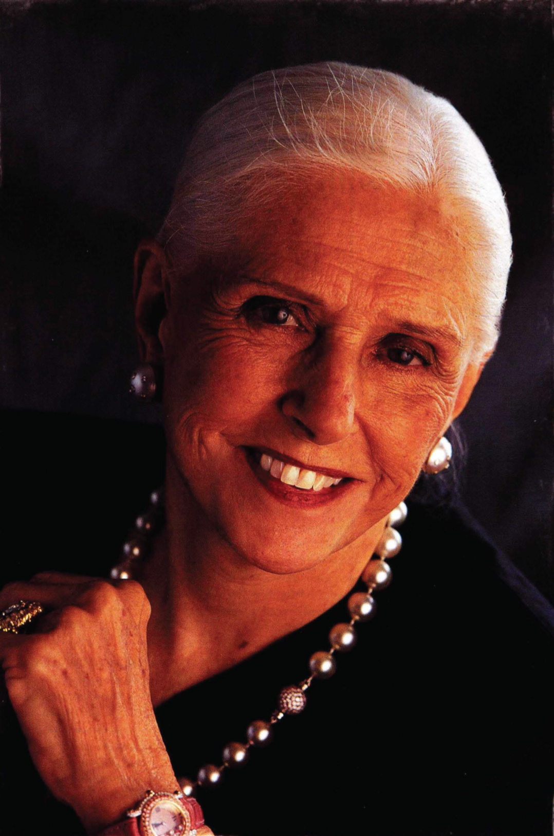 Jazz singer, mattress company executive, and philanthropist Joan C. Edwards (1918-2006) donated tens of millions to dollars to Marshall over the years.