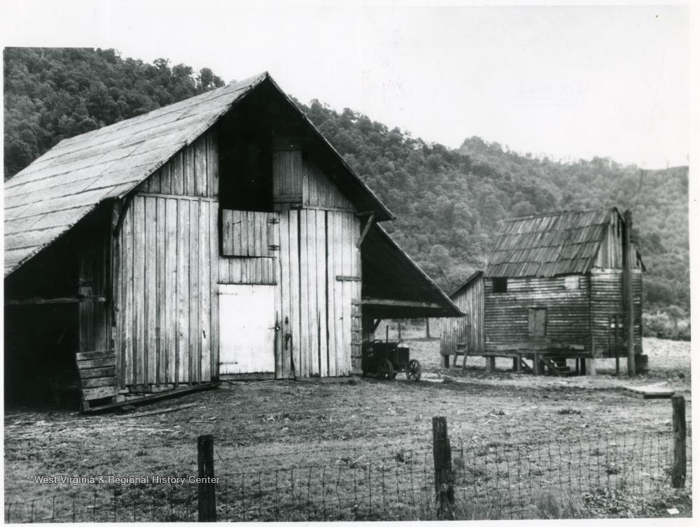 Barn and Salt Dryer at Dickinson Salt Works