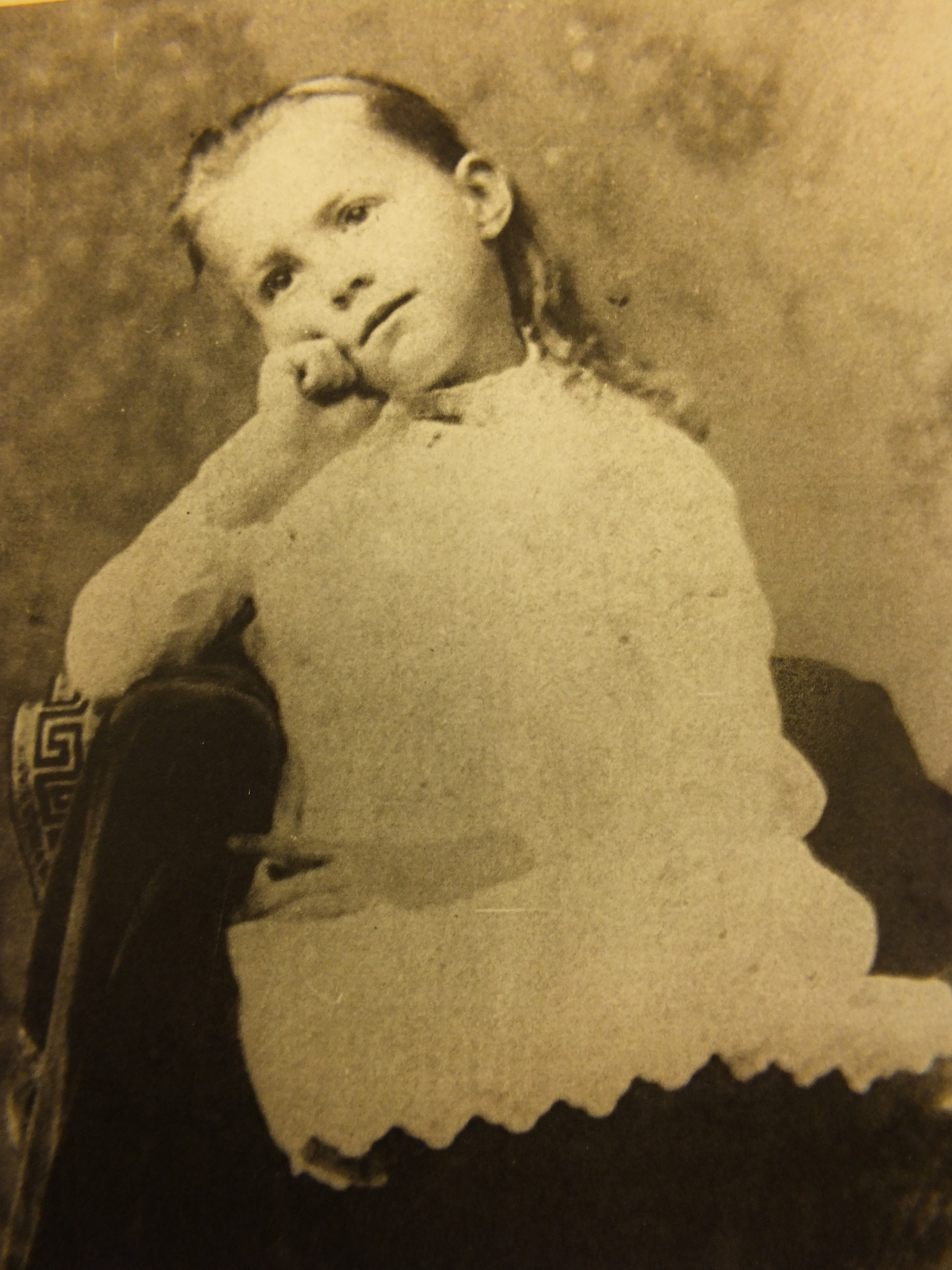 Ruby Scull in 1885, when she was living in a town named after her.