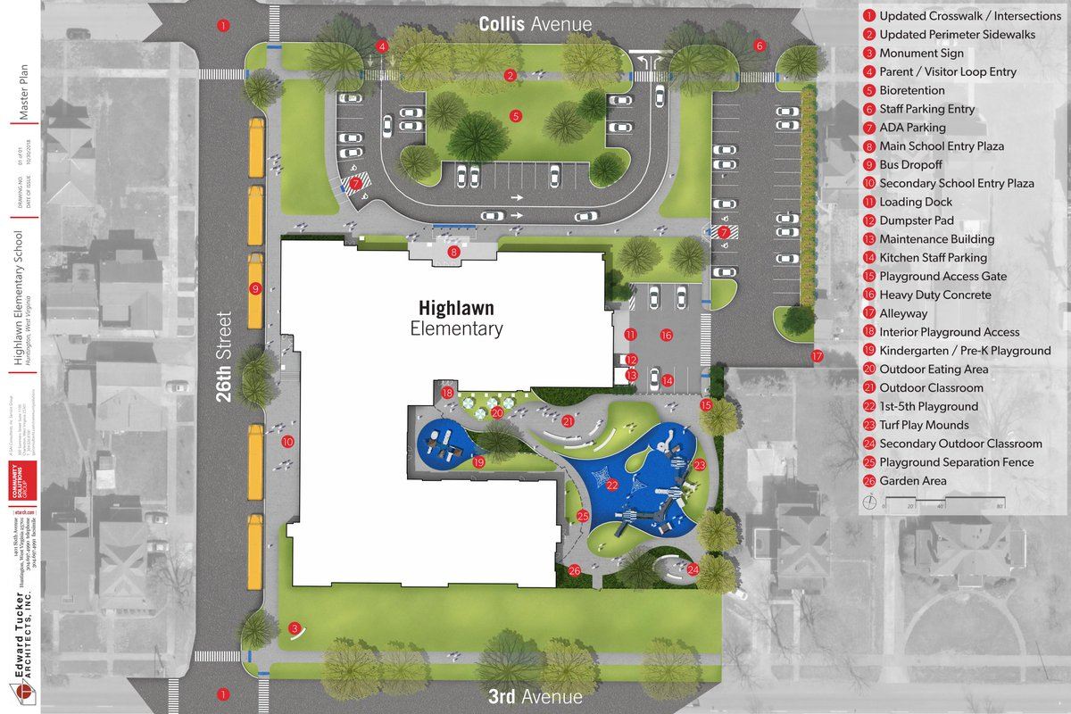 Plan for the new Highlawn Elementary