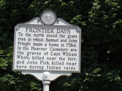Second side of the marker. Image obtained from the Historical Marker Database.
