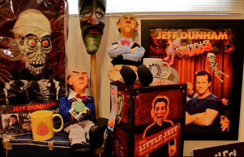 Comedian Jeff Dunham uses puppets and dummies for his shows. Credit: Rose Brewington, Cincinnati Refined