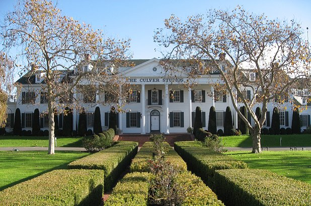 The mansion at Culver Studios today. Photo from The Wrap.