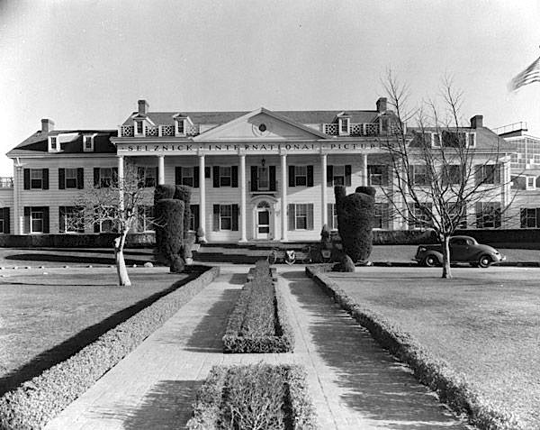 The studio in 1935, ran by David O'Selznick.