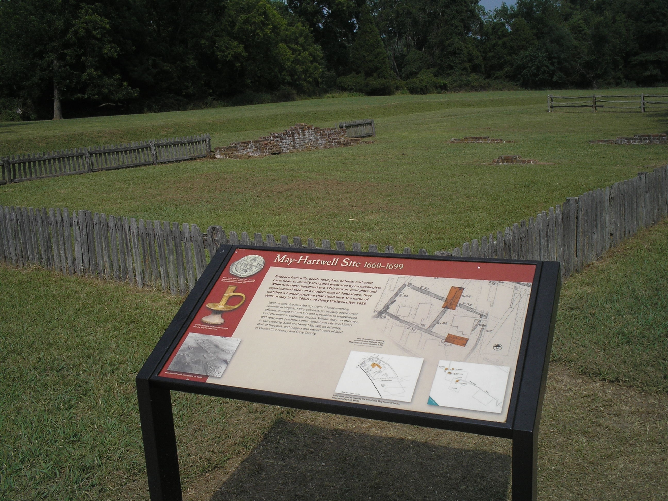 May-Hartwell Site HIstorical Marker by Bill Coughlin on HMDB.org