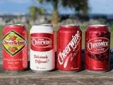 The different logos used to represent the Cheerwine Company