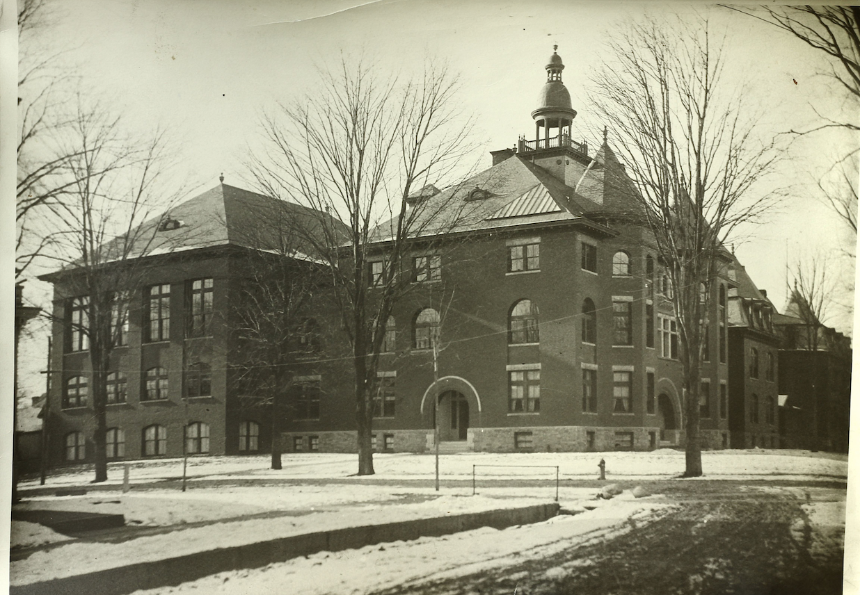 Cortland Normal School (courtesy of the SUNY Cortland College Archive)