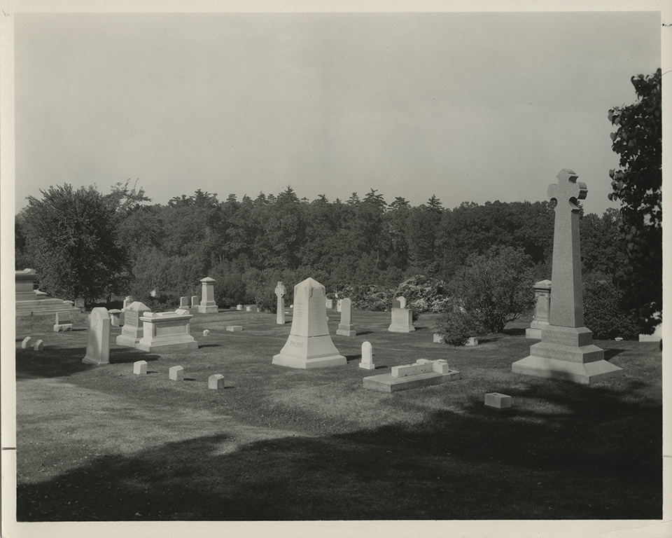 Chapel Cemetery. Photograph by George H. Davis