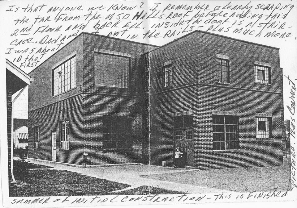 St. Francis School - 1949 (rear view)