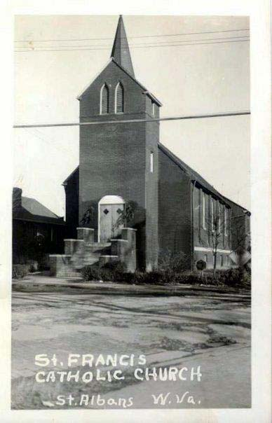 Old church - 1950s