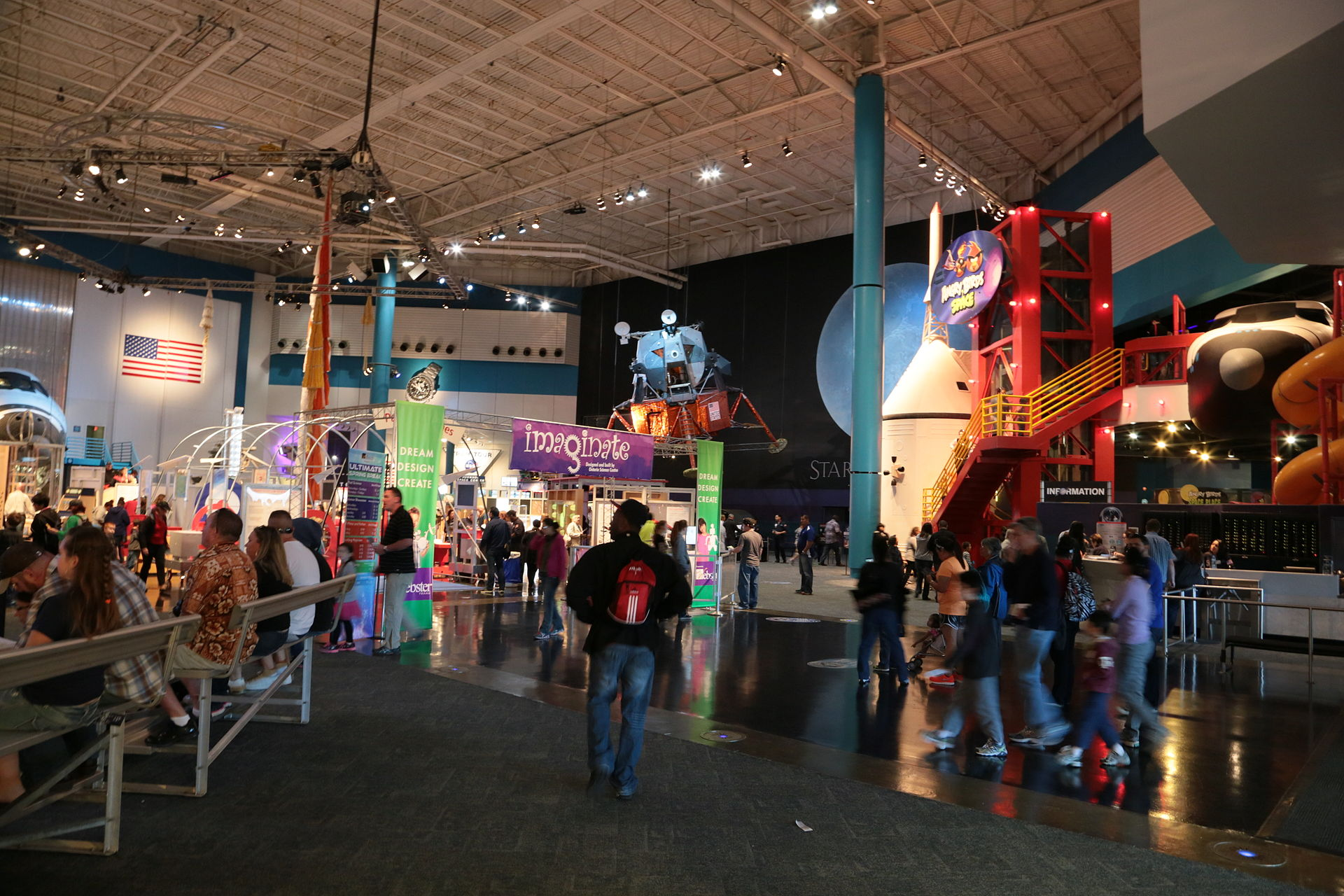 The Center features many permanent and traveling exhibits.