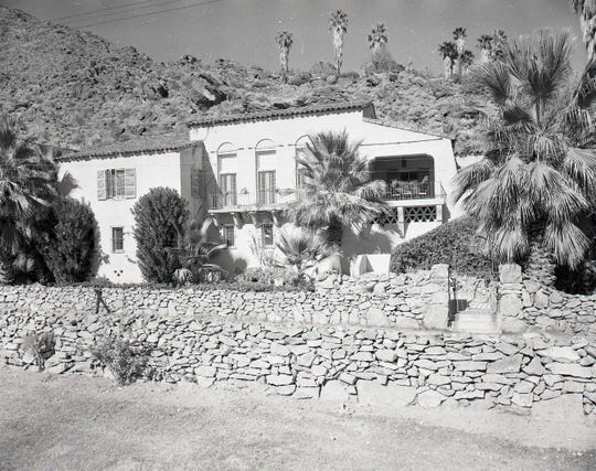 The Former Home of Roland Bishop, Seen Here in 1949, Is Now Apart of The Willows