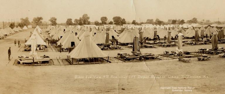 159th Depot Brigade at Camp Zachary Taylor  (1)