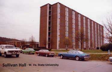 Sullivan Hall shortly after its completion