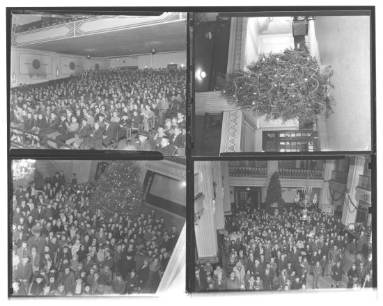 Goodfellows Christmas Party at the Bleich Theatre, 1944