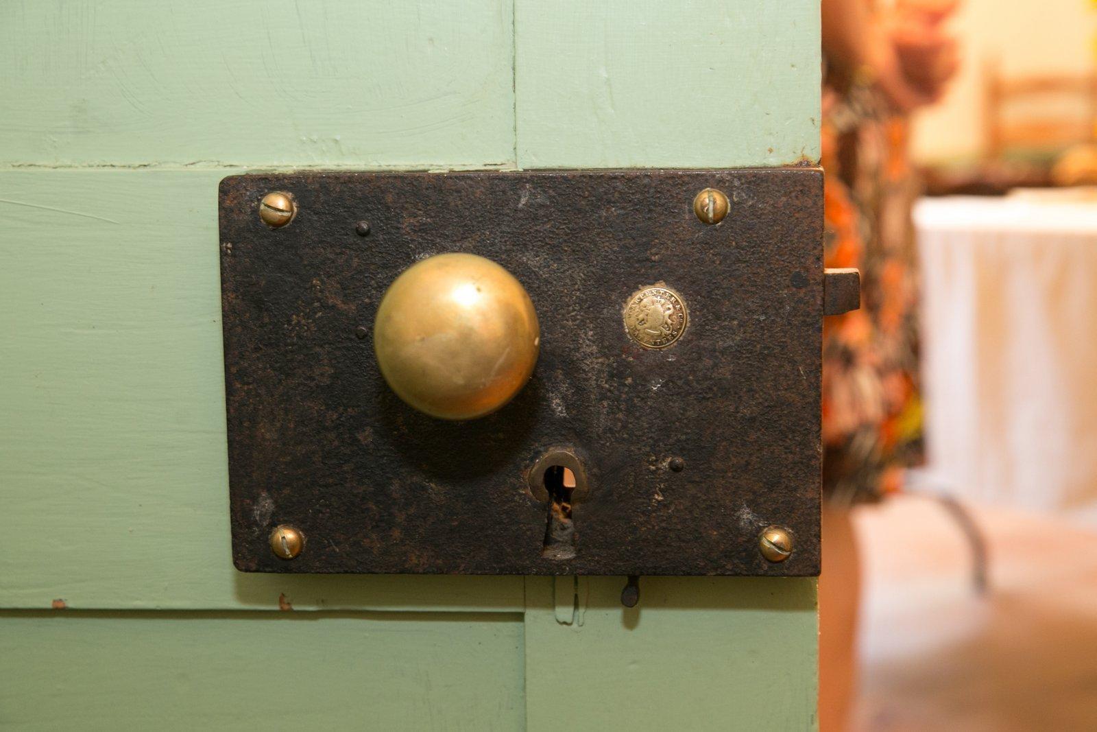 An original lock from 1793.