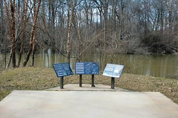 The Battle of Jenkins' Ferry was the last of three battles in the Red River Campaign.