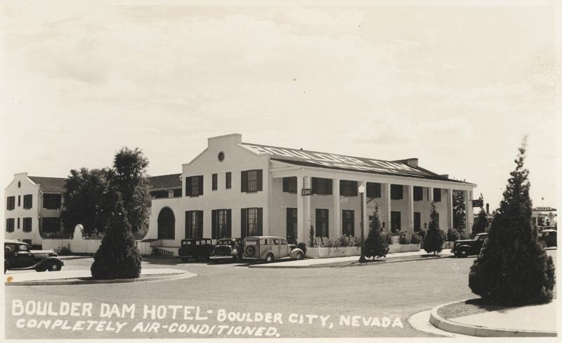 Boulder Dam Hotel, circa 1940s.