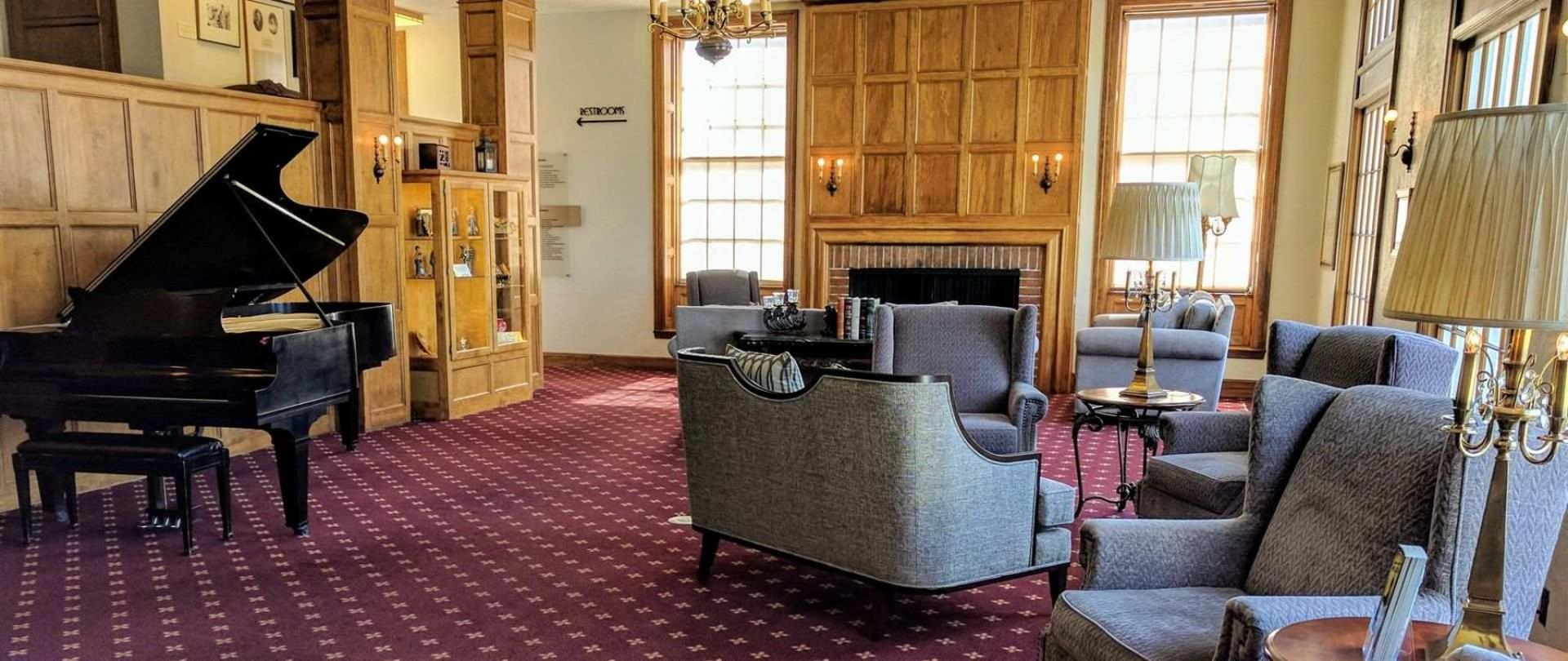 Lobby of Boulder Dam Hotel, 2018. Source: Boulder Dam Hotel.