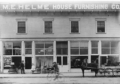 M.E. Helme House Furnishing Co., circa 1907. Source: Orange County Archives.