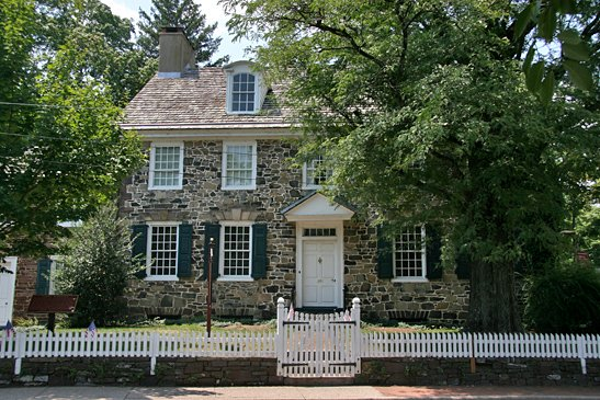 The Parry Mansion has sat on Main Street since 1784.