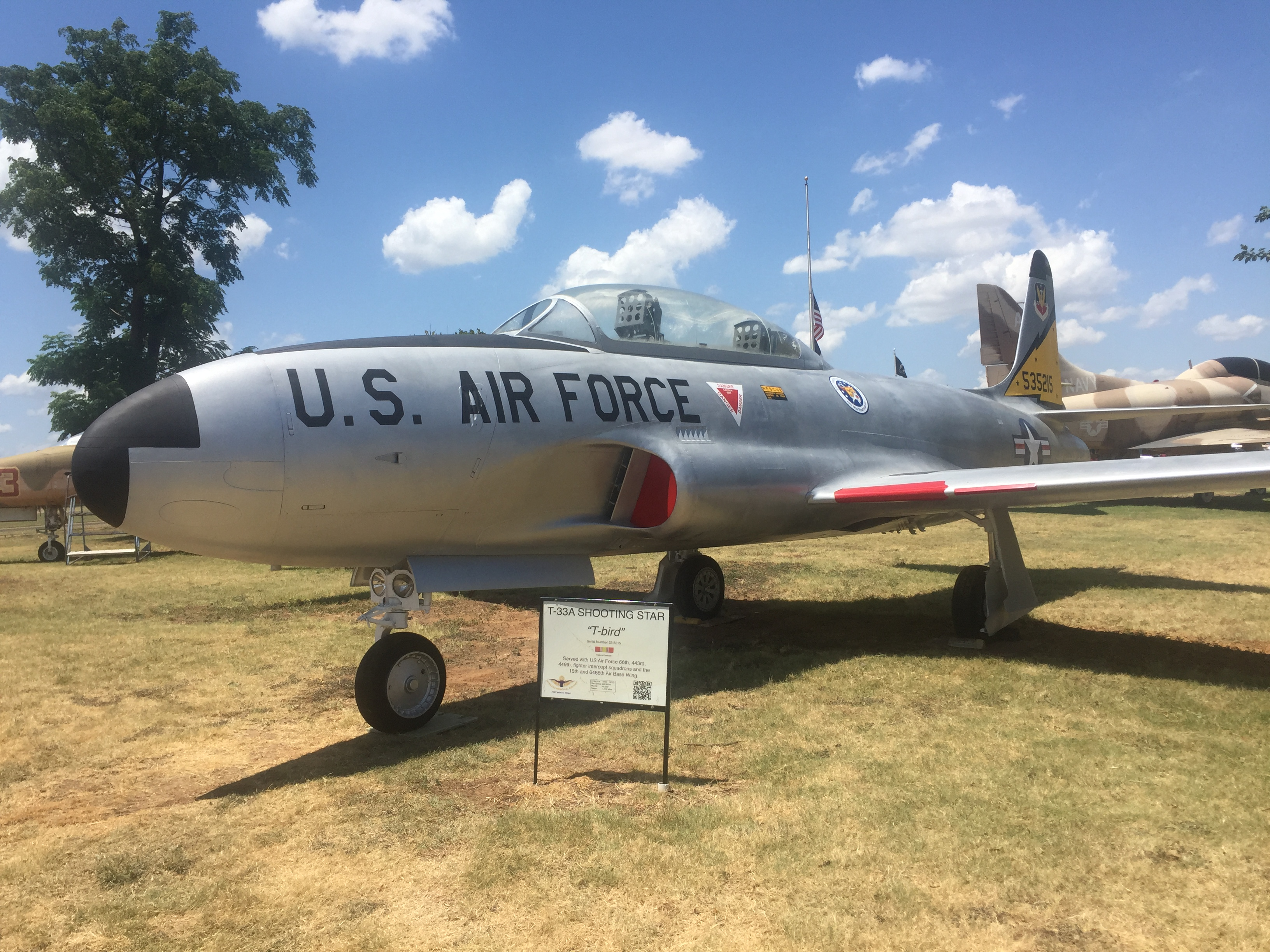 "Lockheed T-33A Shooting Star ""Spittin Kittins"""