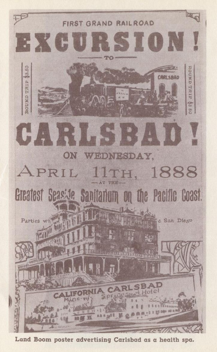 An 1888 advertisement for the healing properties of the Carlsbad well.