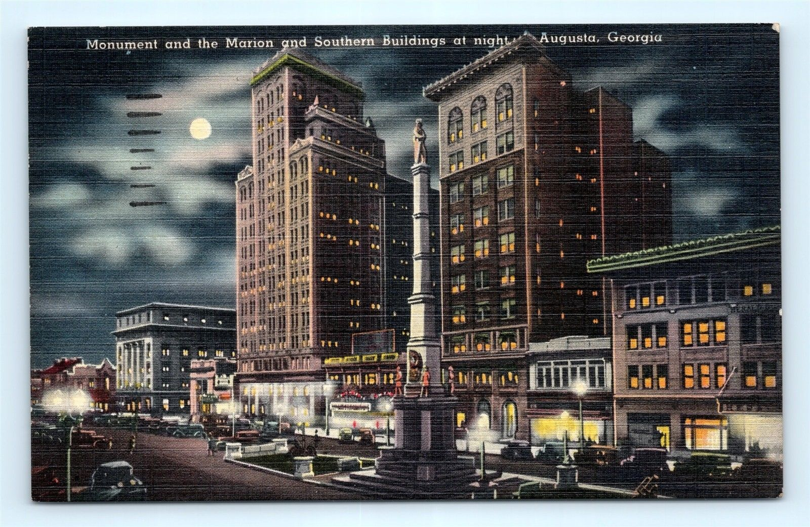 Postcard of Chronicle Building