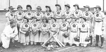 1943 Rockford Peaches