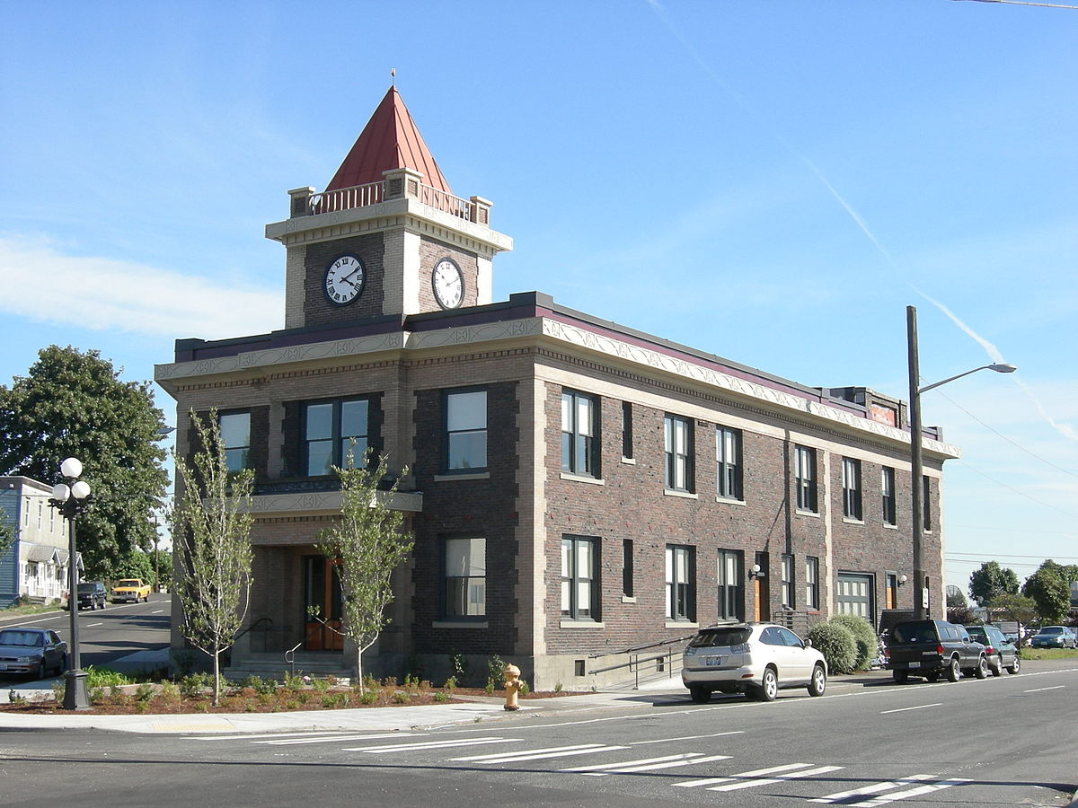 Old Georgetown City Hall in the Southern Half of Seattle