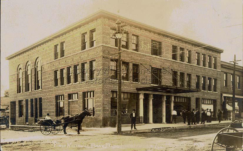 First National Bank, circa 1913-1919