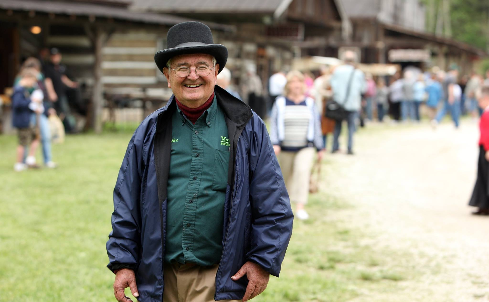 Mike Perry's vision was for Heritage Farm to inspire people to work towards a better future by being as creative and hardworking as their pioneer ancestors.