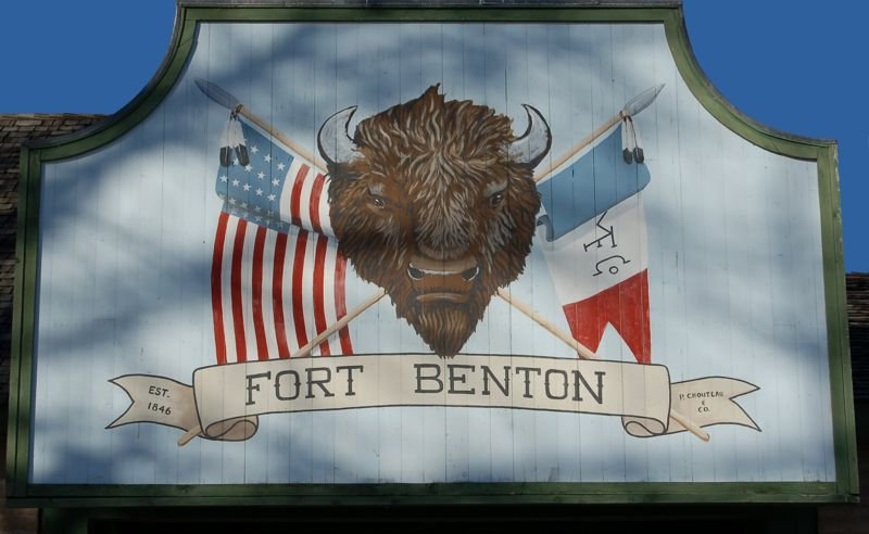 Fort Benton Main Gate