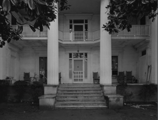 Front of the House as it appeared in 1975 at its original site at 194 Prince Avenue, Athens, Clarke County, GA.