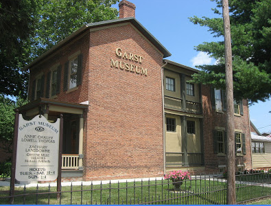 The Garst Museum is operated by the Darke County Historical Society and has grown significantly since acquiring the Garst home in 1946