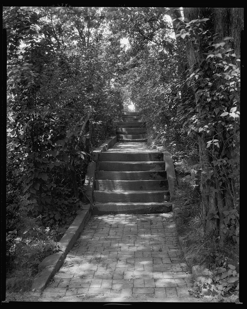 Stairs, 1927, by Frances Benjamin Johnston