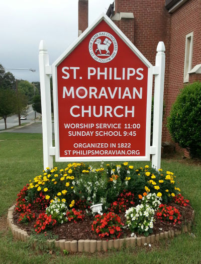 St. Philips church established 1922 in Winston, North Carolina what is now known as Winston-Salem.