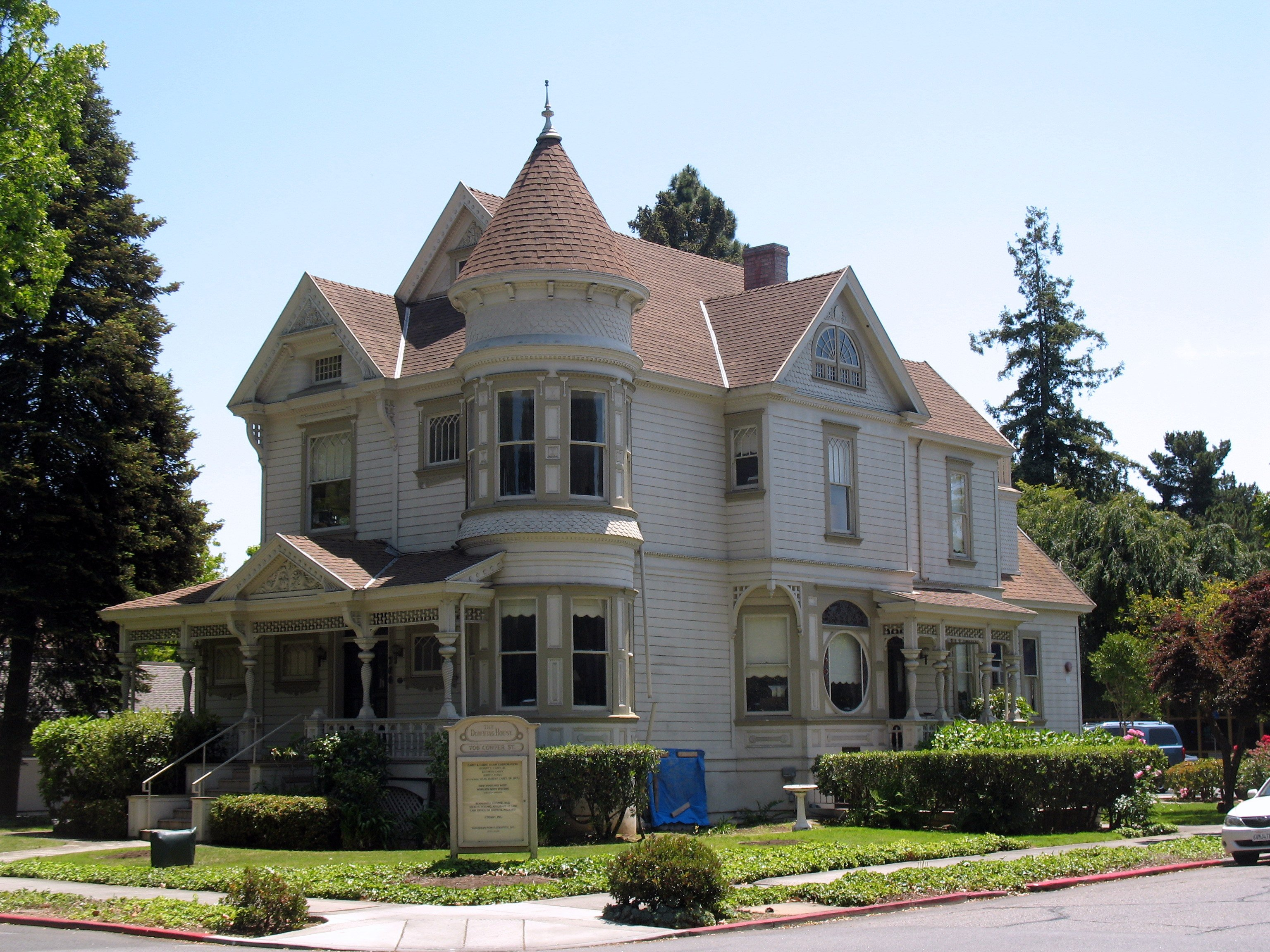 May 27, 2012: T. B. Downing House, 706 Cowper St., Palo Alto