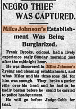Newspaper Article from Weekly Banner, Mar. 29, 1901