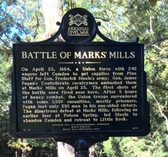 After the Union's loss at Marks' Mills, General Steele and his men chose to plan a retreat to Little Rock.