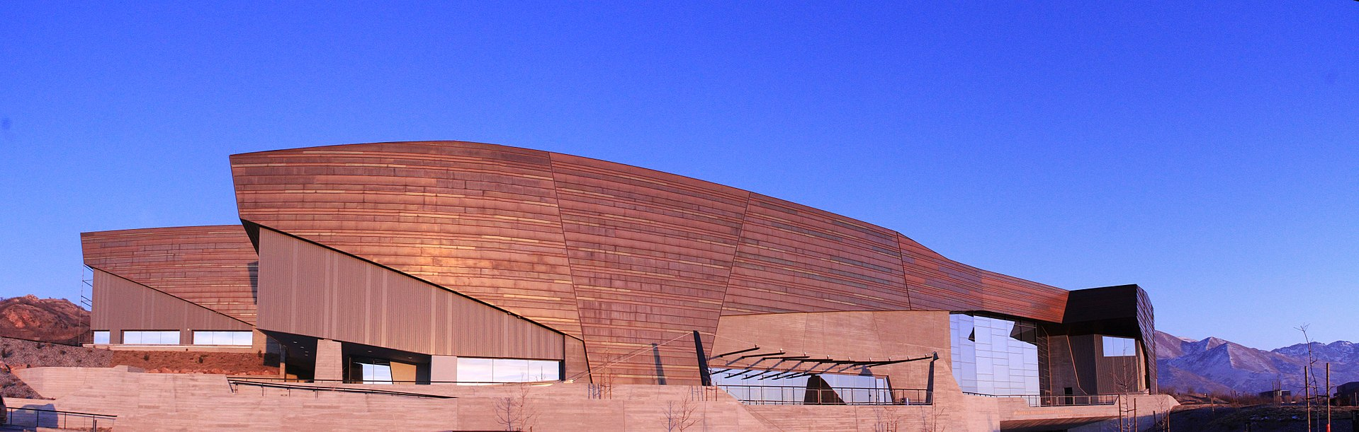 The Natural History Museum of Utah moved into the Rio Tinto Center in 2011.