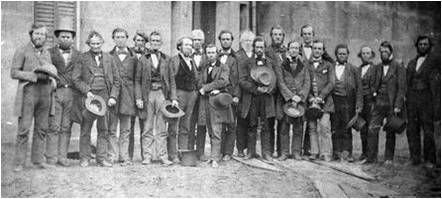 Participants in the Oberlin-Wellington Rescue, 1859.