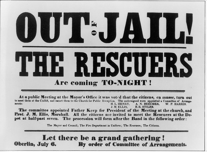 Newspaper editorial calling for a public celebration of the return of those arrested during the Oberlin-Wellington Rescue.