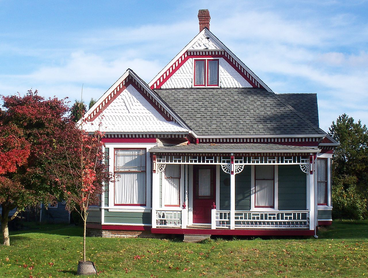 Built in 1882, the Hale House is one the most historic homes in Olympia.