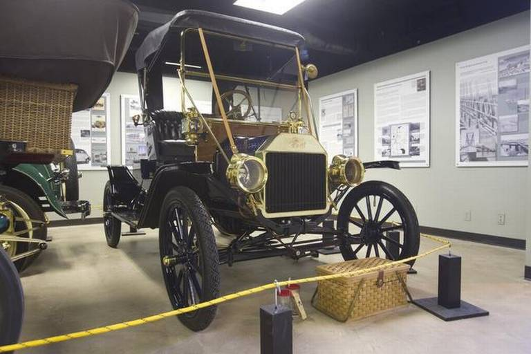 A 1912 Model T, possibly one of the first built in Kansas City