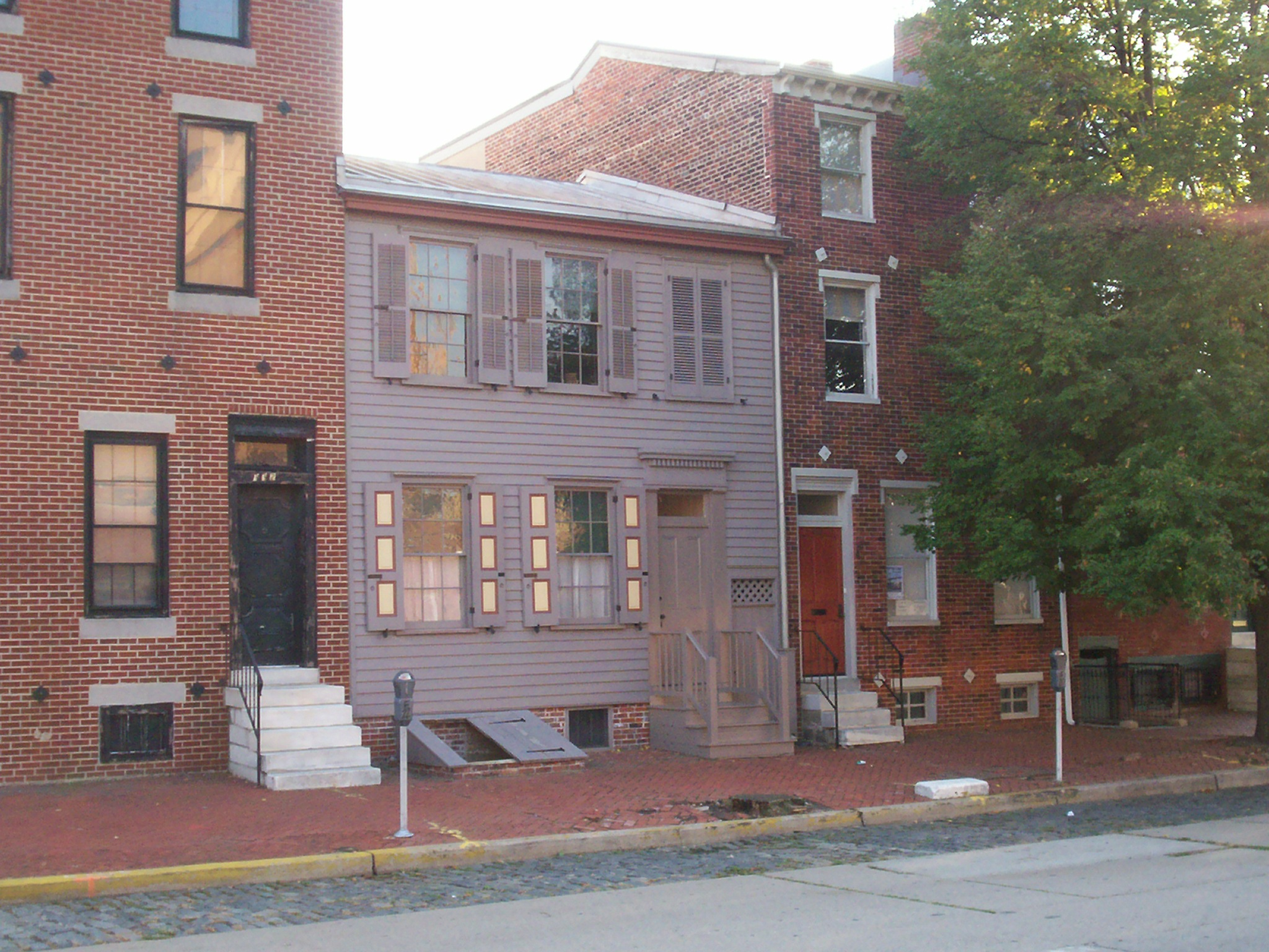 The Walt Whitman House was home to the great American poet for the last eight years of his life, from 1884-1892. Image obtained from Wikimedia.
